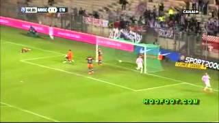 Montpellier vs Evian (bagarre Belhanda vs Mongongu) 1 mai 2012