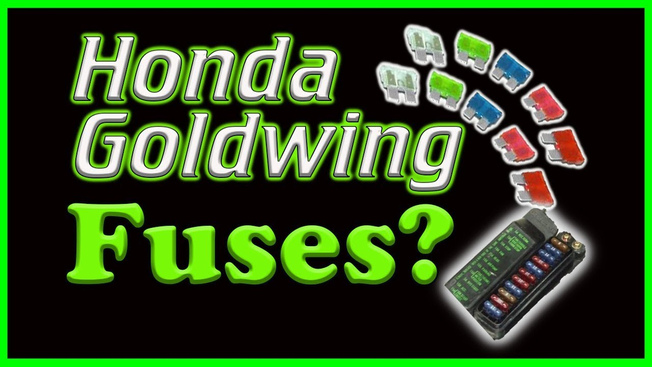 small resolution of honda goldwing fuse box location
