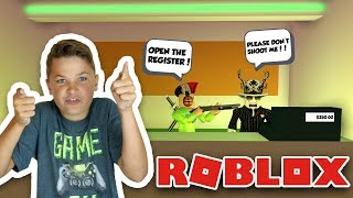 ROBBING GAS STATION in ROBLOX JAILBREAK | NEW UPDATE