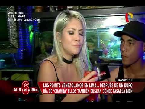 Conozca los points venezolanos en Lima