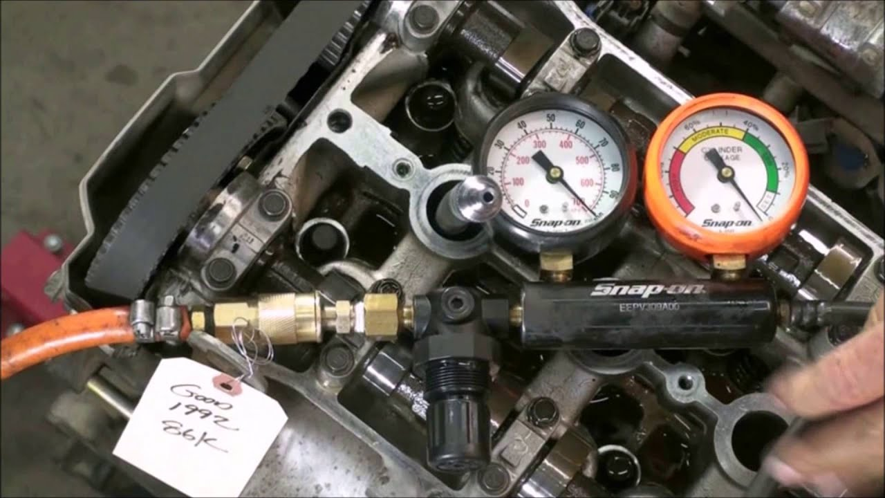 Cylinder Leak Down Test : How to engine compression and leak down test youtube
