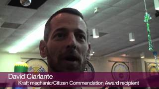 Kraft mechanic recipient of FOP Citizen Commendation award