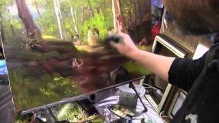 Игорь Сахаров, видеоуроки по живописи, живопись онлайн