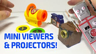 MINI VIEWERS & PROJECTORS!
