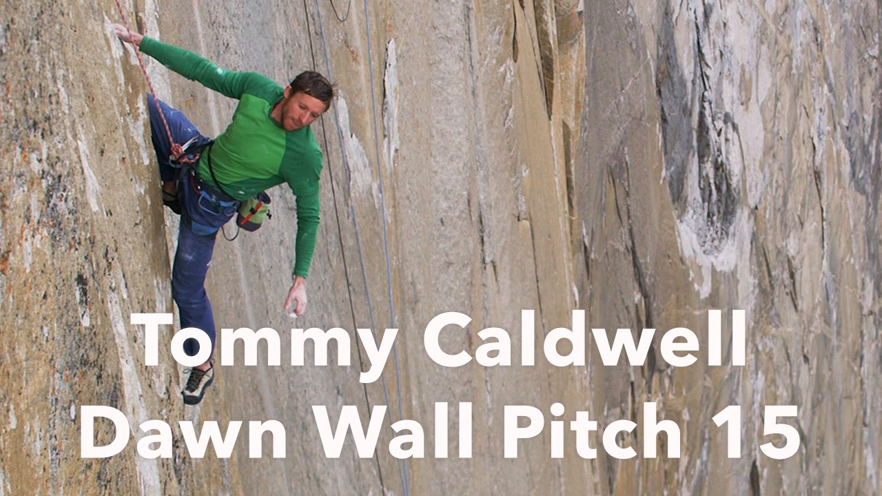 Tommy Caldwell encadenando el largo 15, 9a | The Dawn Wall - Yosemite