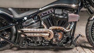 😈 #Harley Davidson #Breakout #custom
