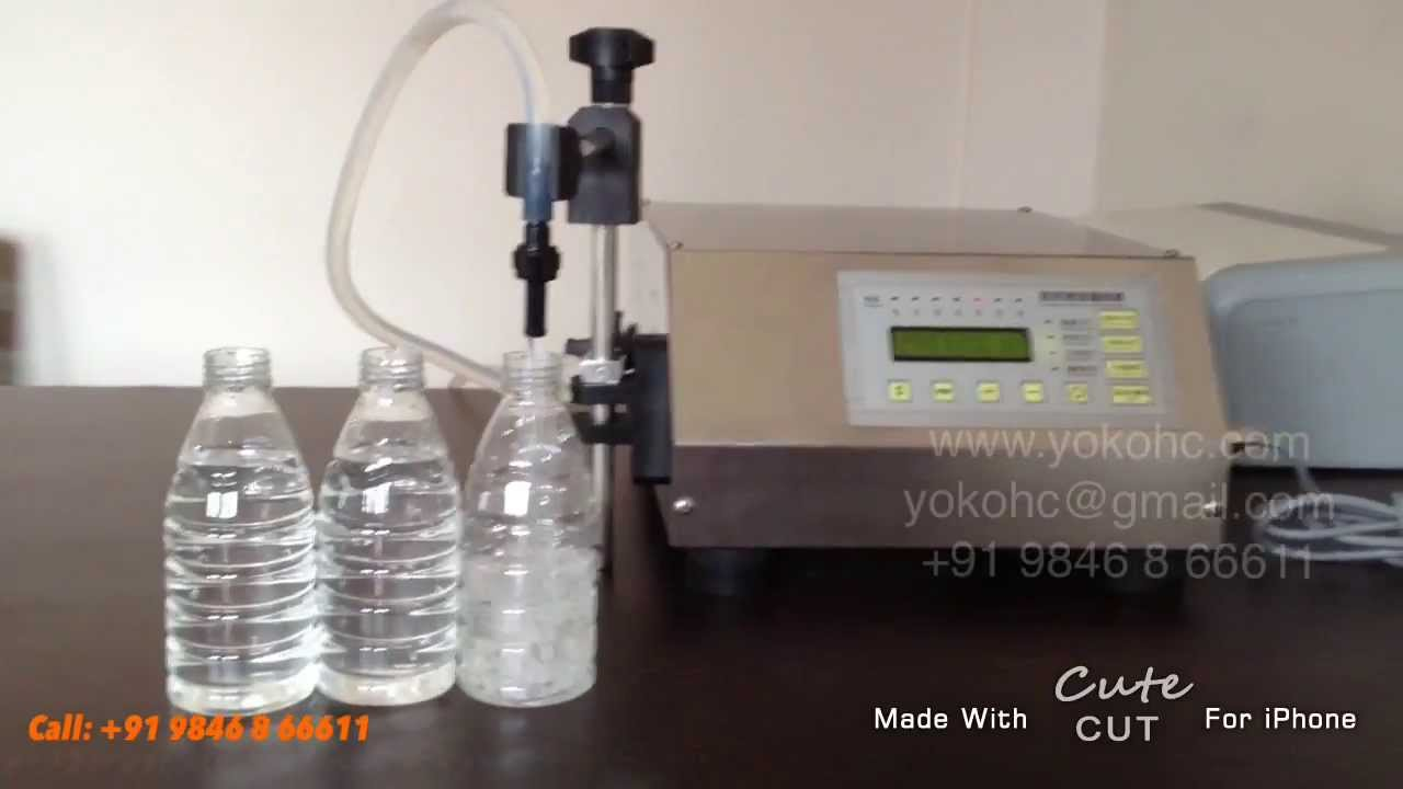 Liquid Filling Machine 0 1ml 5ml 10ml 50ml 60ml 200ml
