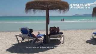 STAFA REISEN Hotelvideo: allsun Eden Alcudia, Mallorca -- Alcudia, Playa de Muro