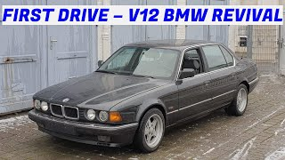 First Drive in 5 Years - V12 BMW E32 750iL - Project Karlsruhe: Part 4