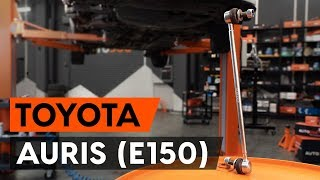 Vymeniť Motor stieračov TOYOTA AURIS: dielenská príručka