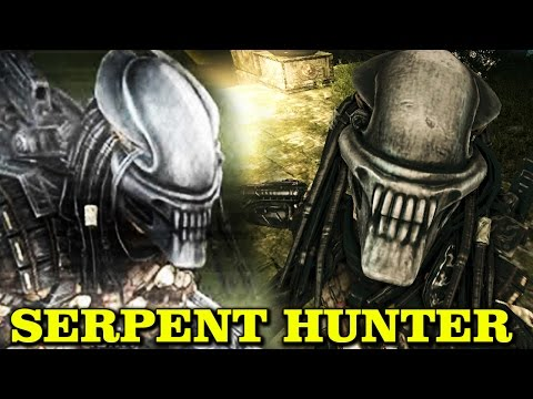 SERPENT HUNTER EXPLAINED - ALIEN HEAD PREDATOR YAUTJA AVP 20