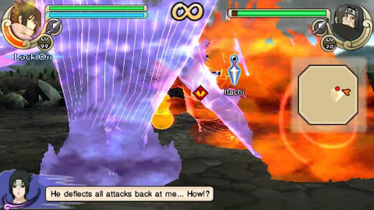 Naruto: Ultimate Ninja Impact - Sasuke Susano'o VS Itachi ...