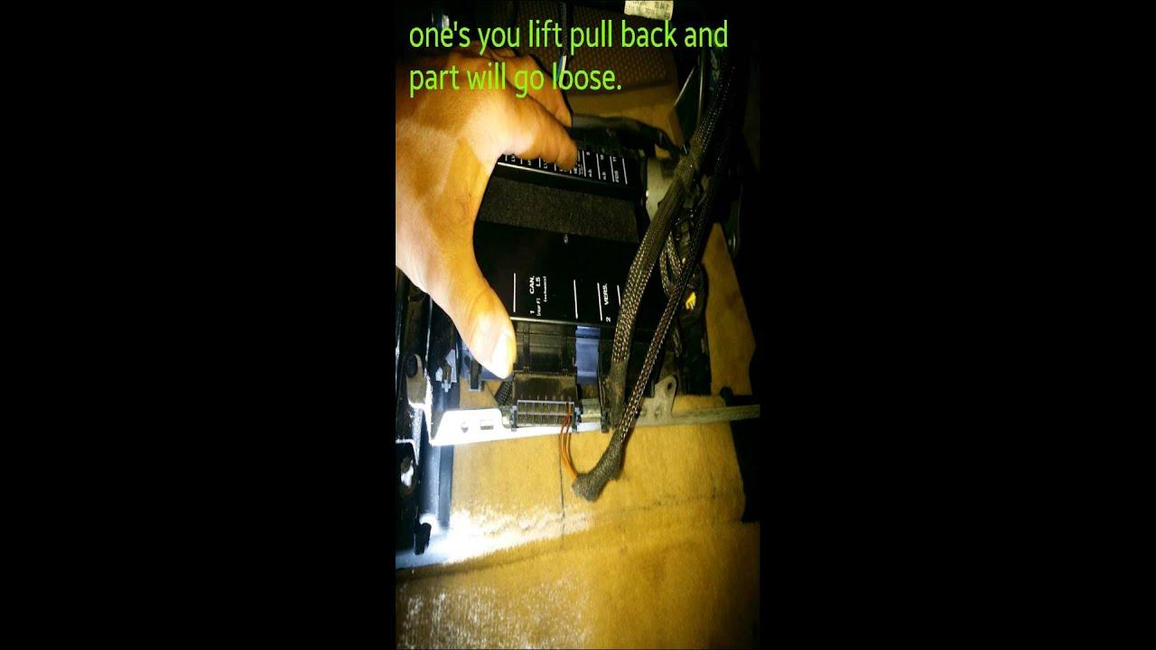 Replace Passenger Seat Control Module C240 Mercedes 2001 Youtube 2004 Chevrolet Corvette Z06 Engine Fuse Box Diagram