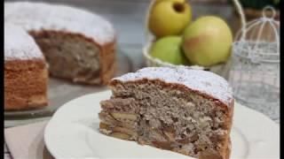 Бесподобная Шарлотка с Яблоками | Самый вкусный рецепт