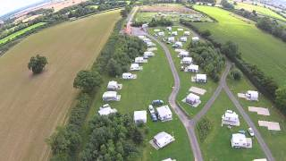 York Meadows Campsite Sheriff Hutton Yorkshire Aerial Video Shot Using My DJI Phantom 2 Vision V3