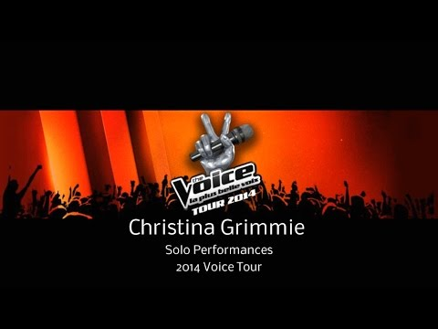 Christina Grimmie -Voice Tour Solo Performances 2014