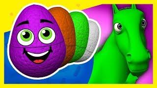 Huevos Sorpresa de Colores de La Granja de Zenón #3 | A Jugar