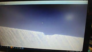 연마한 대팻날 현미경 관찰
