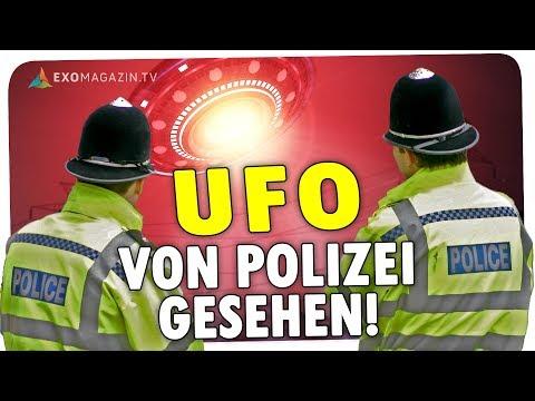 UFO von Polizei gesehen - Britischer Beamter packt aus! - ExoMagazin.tv
