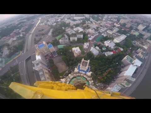 Climbing 176 Metres To The Top Of A Stalinist Skyscraper / Звезда на Котельнической набережной