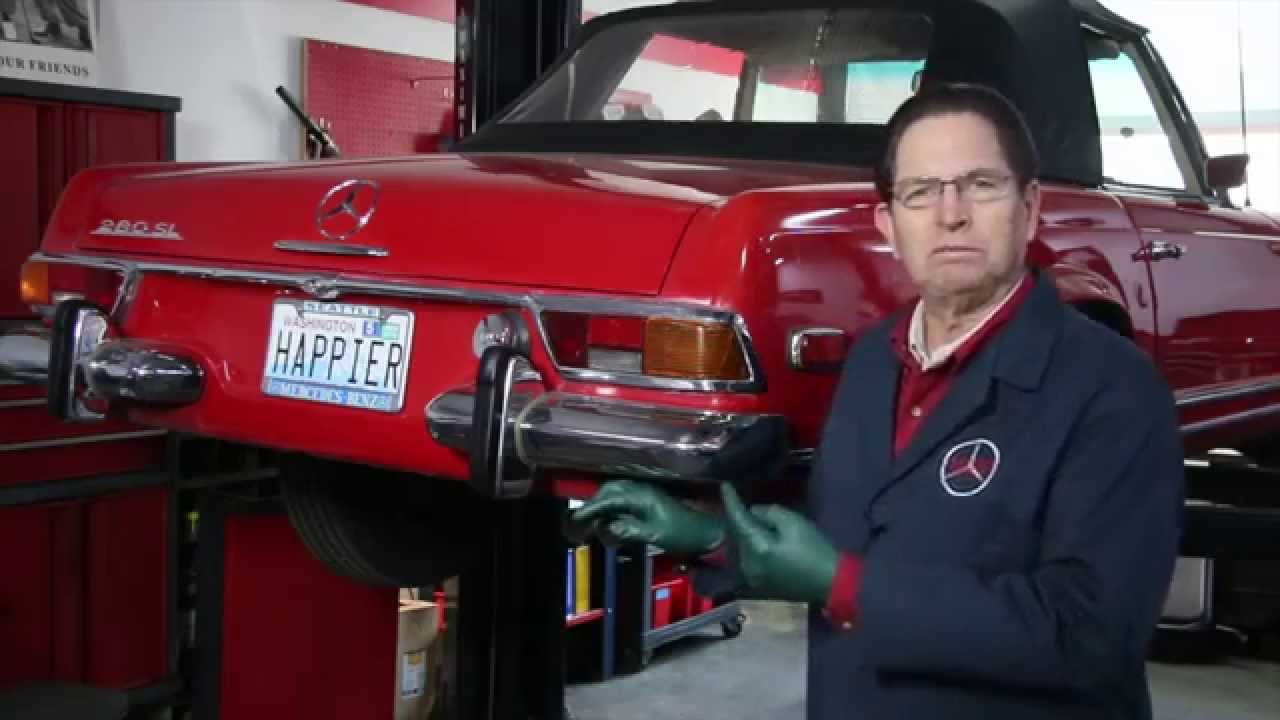 evidence engine running too rich early mercedes mfi fuel injection part 1 w kent bergsma youtube [ 1280 x 720 Pixel ]