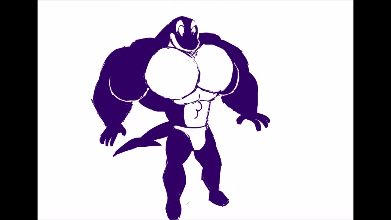Orca Muscle Growth By Flamingfirefury