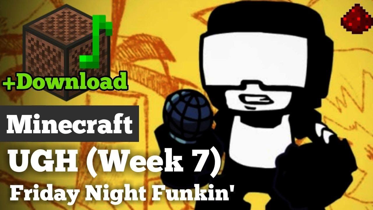 Friday Night Funkin' - UGH - Minecraft Note Block Cover