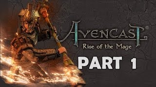 Avencast  Rise of The Mage ✨ | Training with Horatio | Part 1 🔵 ✅