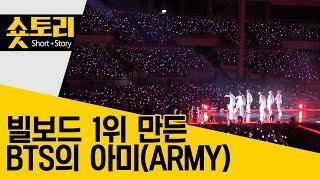 [숏토리] 빌보드 1위 만든 BTS의 아미(ARMY)