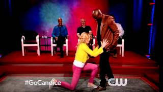 Whose Line is it Anyway Wayne Brady song styles with The Vampire Diaries Candice Accola