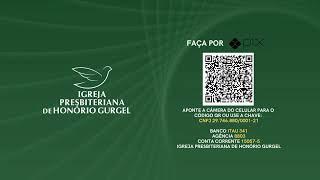 CULTO DE ORAÇÃO - 07/10/2021