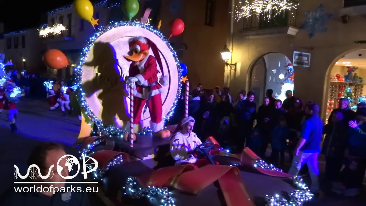 la parada de navidad port aventura navidad christmas parade youtube