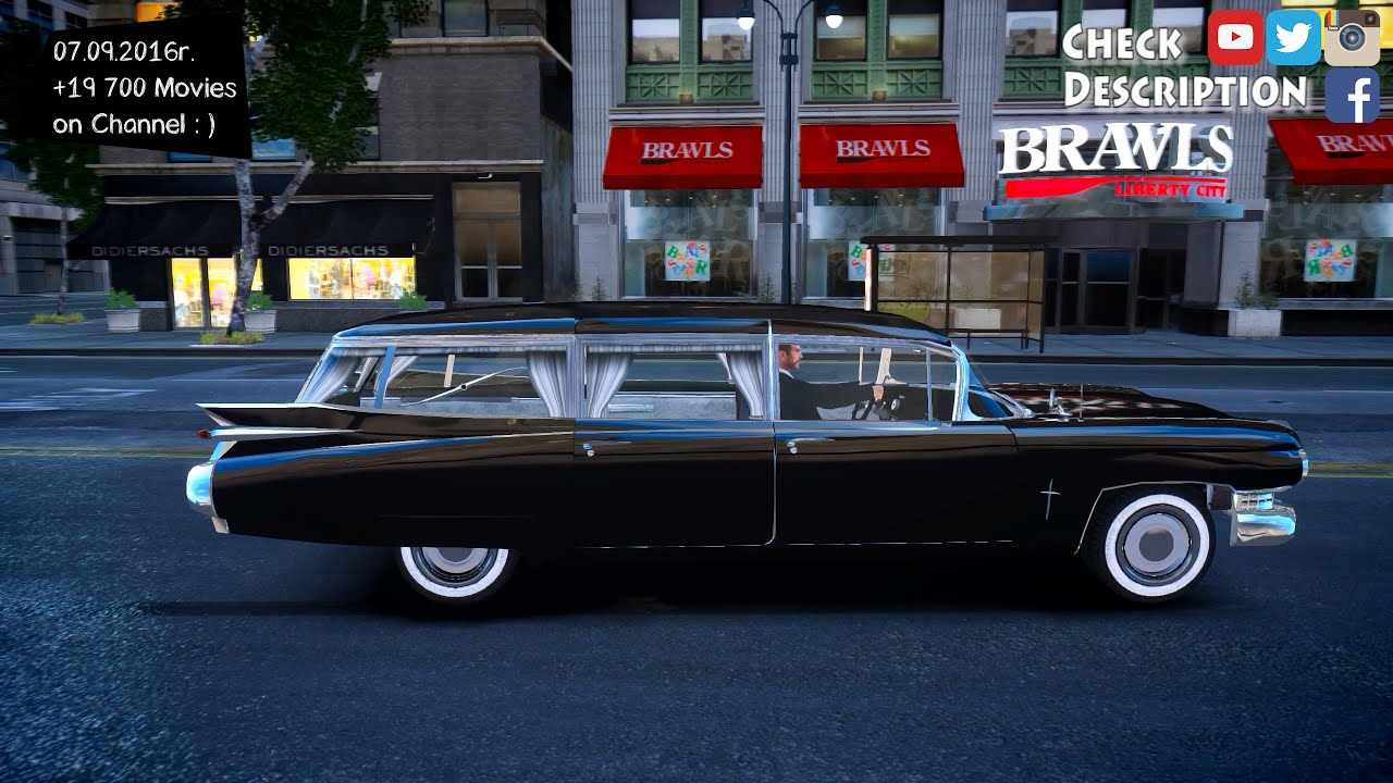 1959 Cadillac Miller Meteor Hearse - GTA IV ENB - 2.7K / 1440p ...