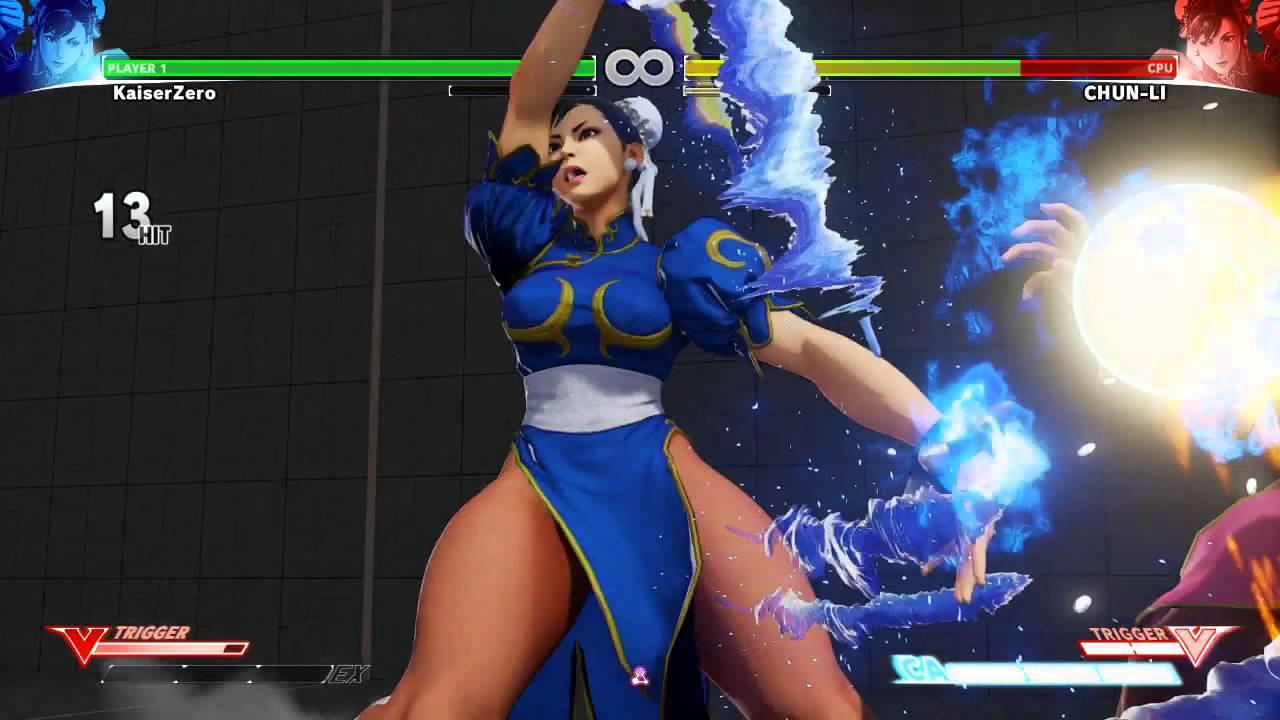Street Fighter 5 Beta Chun Li Combo Youtube
