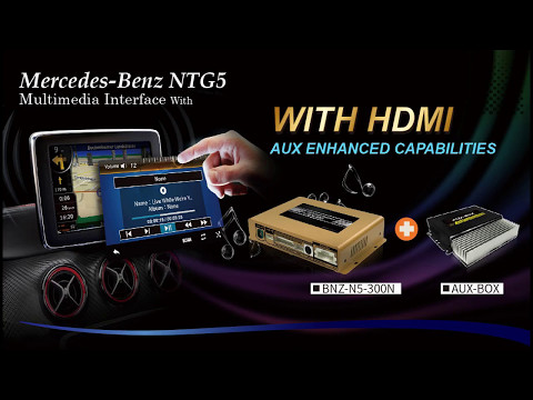 NEW Features!HDMI~Video multimedia GPS Navigation Interface for.Mercedes Benz