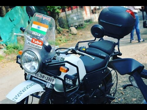 Modification On My ROYAL ENFIELD HIMALAYAN(custom made)