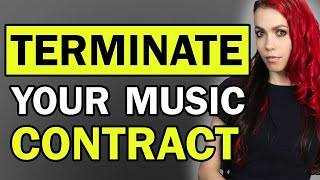 How To Break A Music Contract FAST (Top 5 Ways To Do It Legally)