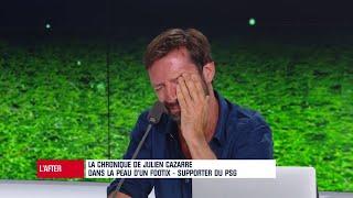 PSG - Strasbourg : Cazarre dans la peau d'un footix qui revoit Neymar sur le terrain