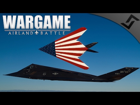 F-117 Nighthawk Bombers - Wargame: AirLand Battle - Fortress Oslo PVP Campaign NATO #1