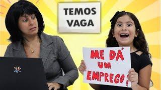 MARIA CLARA FINGI PEDIR EMPREGO E ABRE UMA LOJINHA DE SLIME! (parte 1)