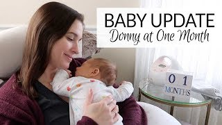 Baby & Postpartum Update | Donny at One Month