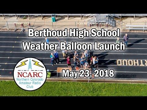 Berthoud High School Balloon Launch
