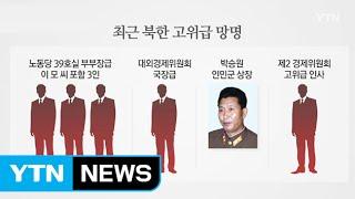 북한 고위급 인사 잇단 망명...북한은 지금? / YTN