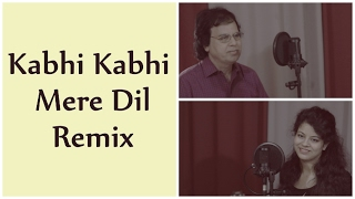 Kabhi Kabhi Mere Dil Mein - Remix by Ruhi ❤ Valentines Day  ❤ (Cover With My Dad)