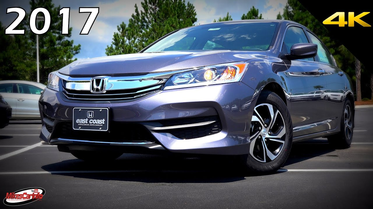 small resolution of 2017 honda accord lx ultimate in depth look in 4k