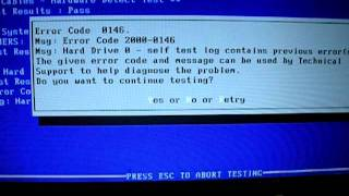 Andy's Dell Inspiron M5030 Laptop Hard Drive Error 2000-0146