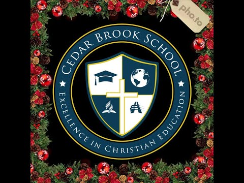 Cedar Brook School Christmas Program 2020'