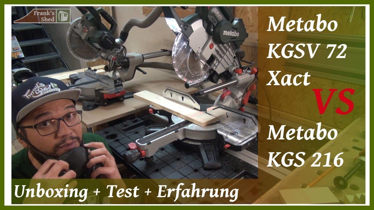 Metabo Kgs 216 M Test : kapps ge metabo kgsv 72 xact kgs 216 m review test erfahrung unboxing franks shed ~ Watch28wear.com Haus und Dekorationen