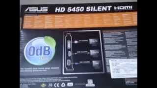 asus amd ati radeon hd 5450 1gb ddr3 graphics card unboxing and review
