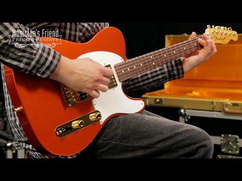 Fender Custom Shop HS Closet Telecaster Electric Guitar with Classic Gold Hardware